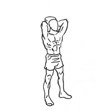 Gallery For > Standing Tricep Extension