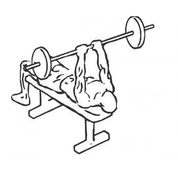 lying triceps press gymwolf